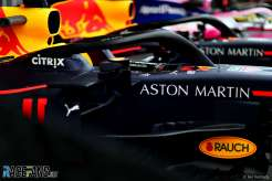Detail of the Red Bull Racing RB15