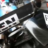 Detail of the Williams F1 Team FW42