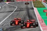 Sebastian Vettel and Charles Leclerc, Scuderia Ferrari, SF72H