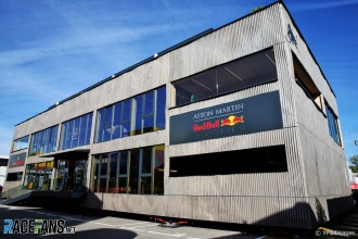 The Motorhome for Red Bull Racing and Scuderia Toro Rosso
