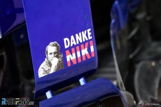 Niki Lauda Tribute, Scuderia Toro Rosso, STR14