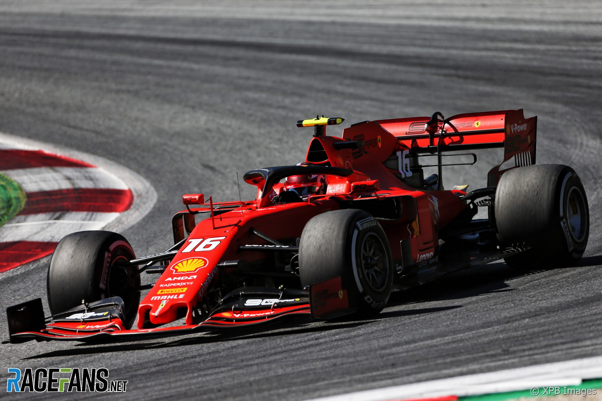 Charles Leclerc Scuderia Ferrari Sf74h Marco S Formula 1 Page