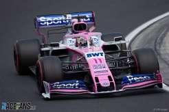 Sergio Pérez, SportPesa Racing Point F1 Team, RP19