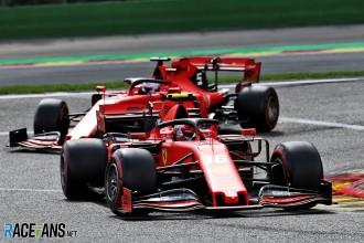 Charles Leclerc and Sebastian Vettel, Scuderia Ferrari, SF74H