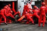 Pit Stop for Sebastian Vettel, Scuderia Ferrari, SF74H
