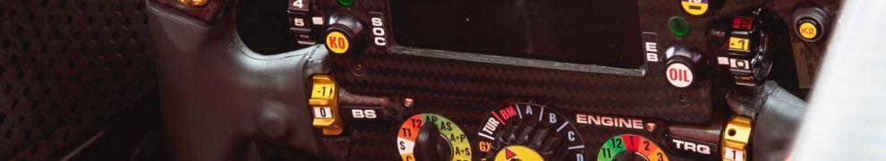 The Steering Wheel for Scuderia Ferrari, SF74H