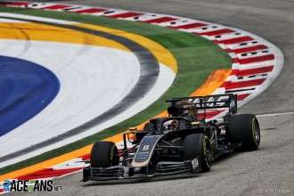 Romain Grosjean, Haas F1 Team, VF19