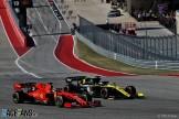 Daniel Ricciardo (Renault F1 Team, R.S.19) and Sebastian Vettel (Scuderia Ferrari, SF74H)