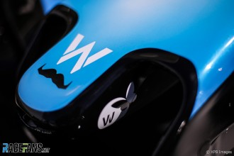 Detail of Williams F1 Team FW42