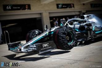 Detail of Mercedes AMG F1 Team F1 W10