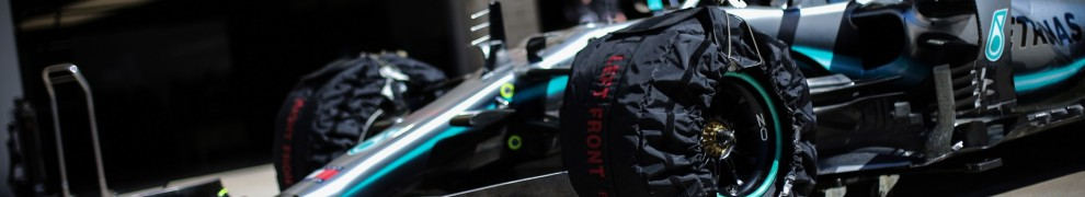 Detail of Mercedes AMG F1 Team F1 W10