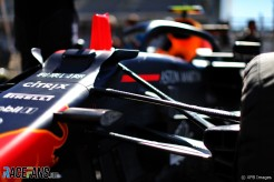 Detail of Red Bull Racing RB15
