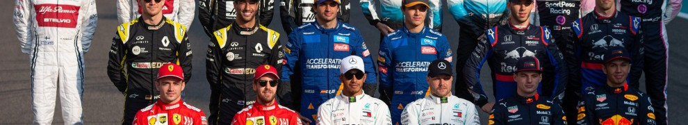 The Formula 1 Class of 2019