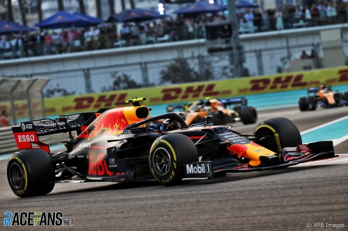 Alexander Albon, Red Bull Racing, RB15
