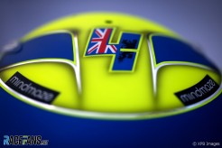 Helmet for Lando Norris