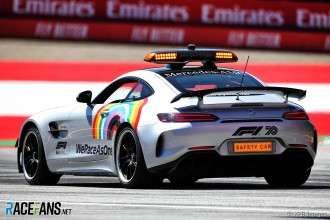 The Safety Car in a New Livery