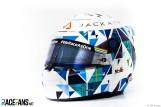 Jack Aitken's Helmet