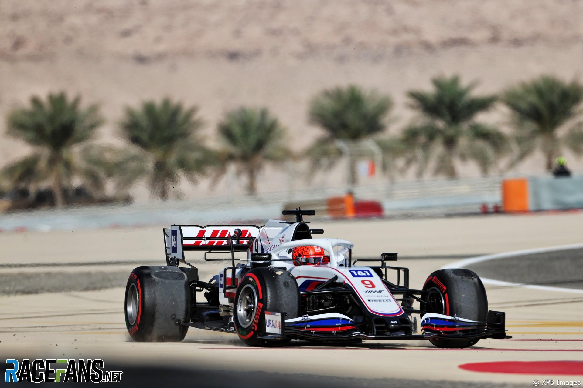 Nikita Mazepin, Haas F1 Team, VF21