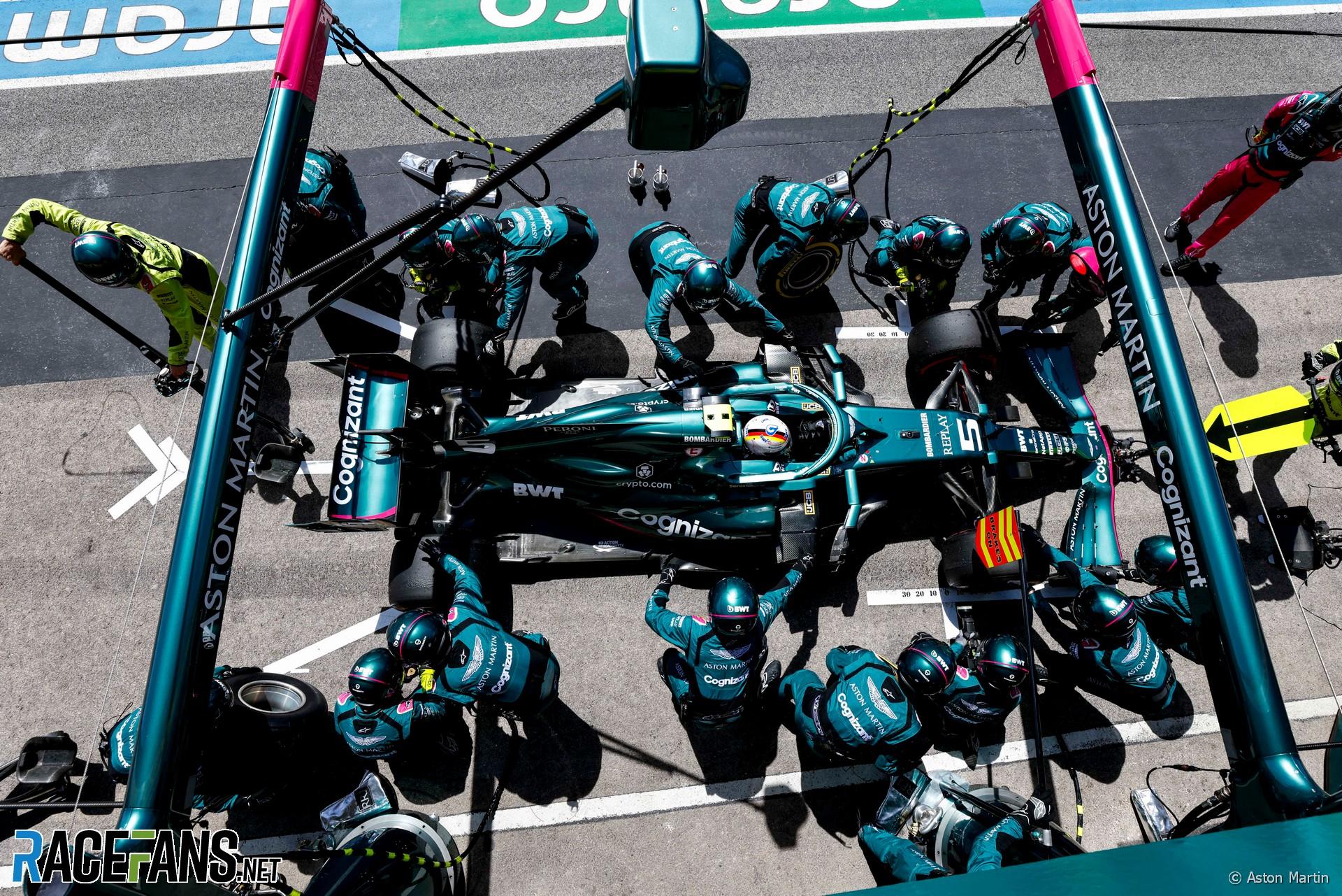 Sebastian Vettel, Aston Martin F1 Team, AMR21