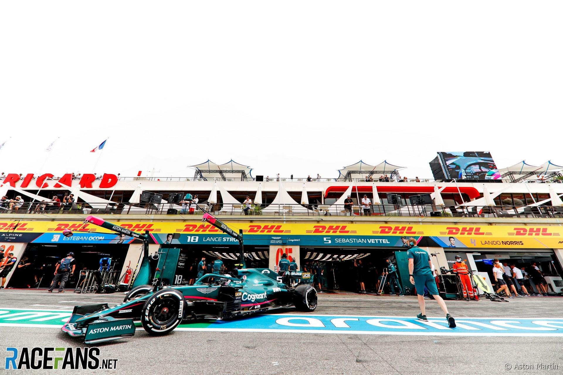 Sebastian Vettel, Aston Martin Racing, AMR21