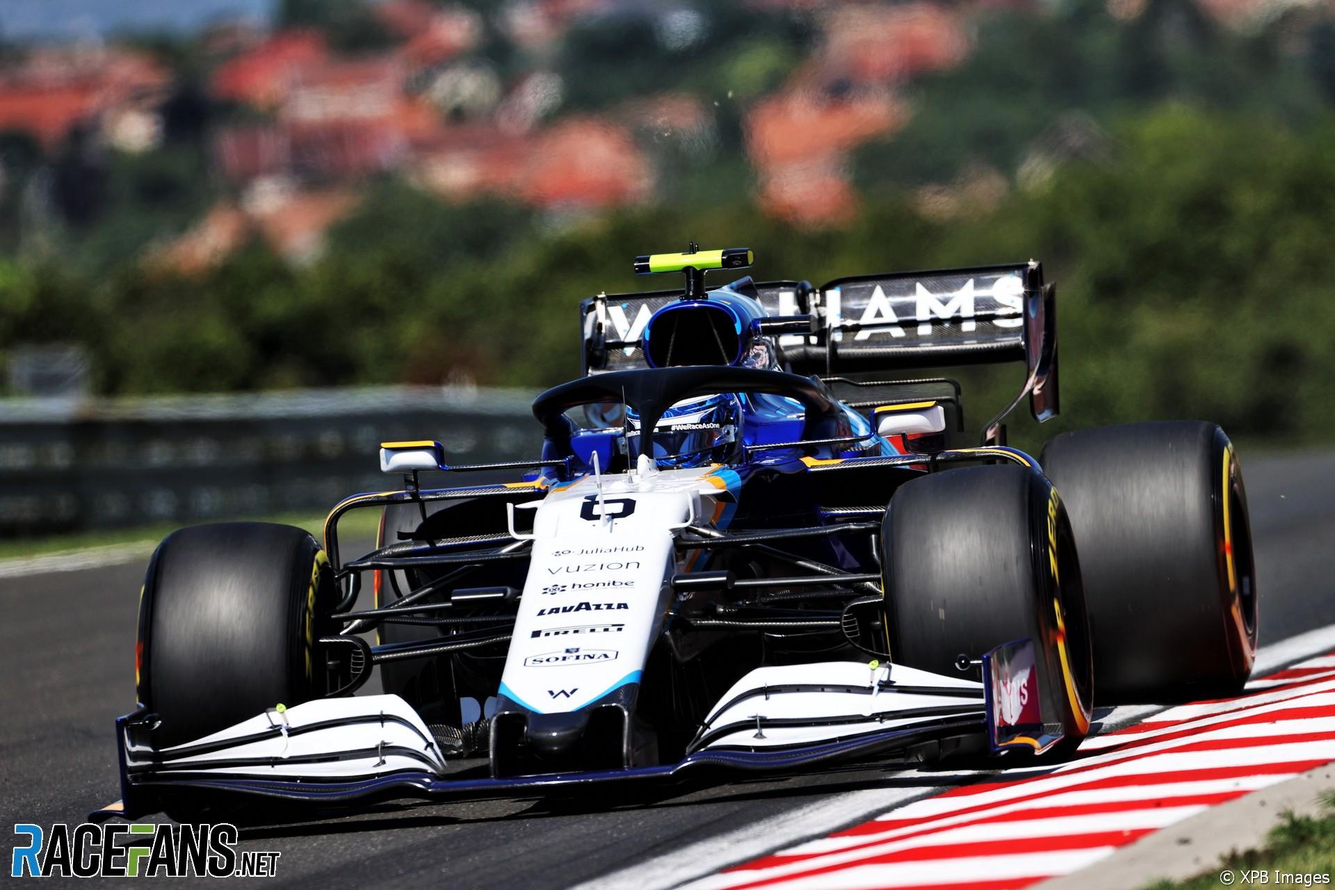 Nicholas Latifi, Williams F1 Team, FW43B