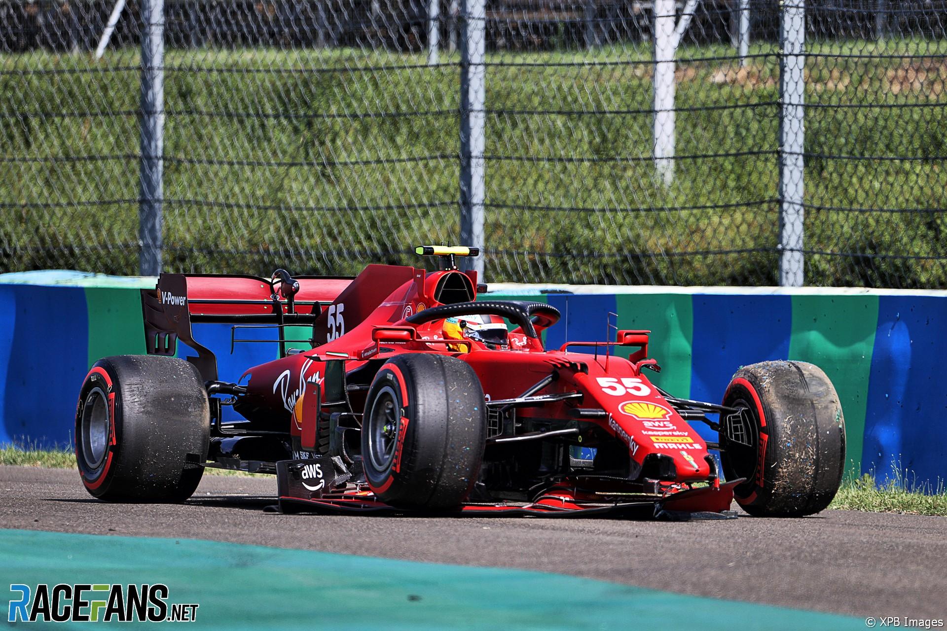 Carlos Sainz Jr., Scuderia Ferrari, SF21