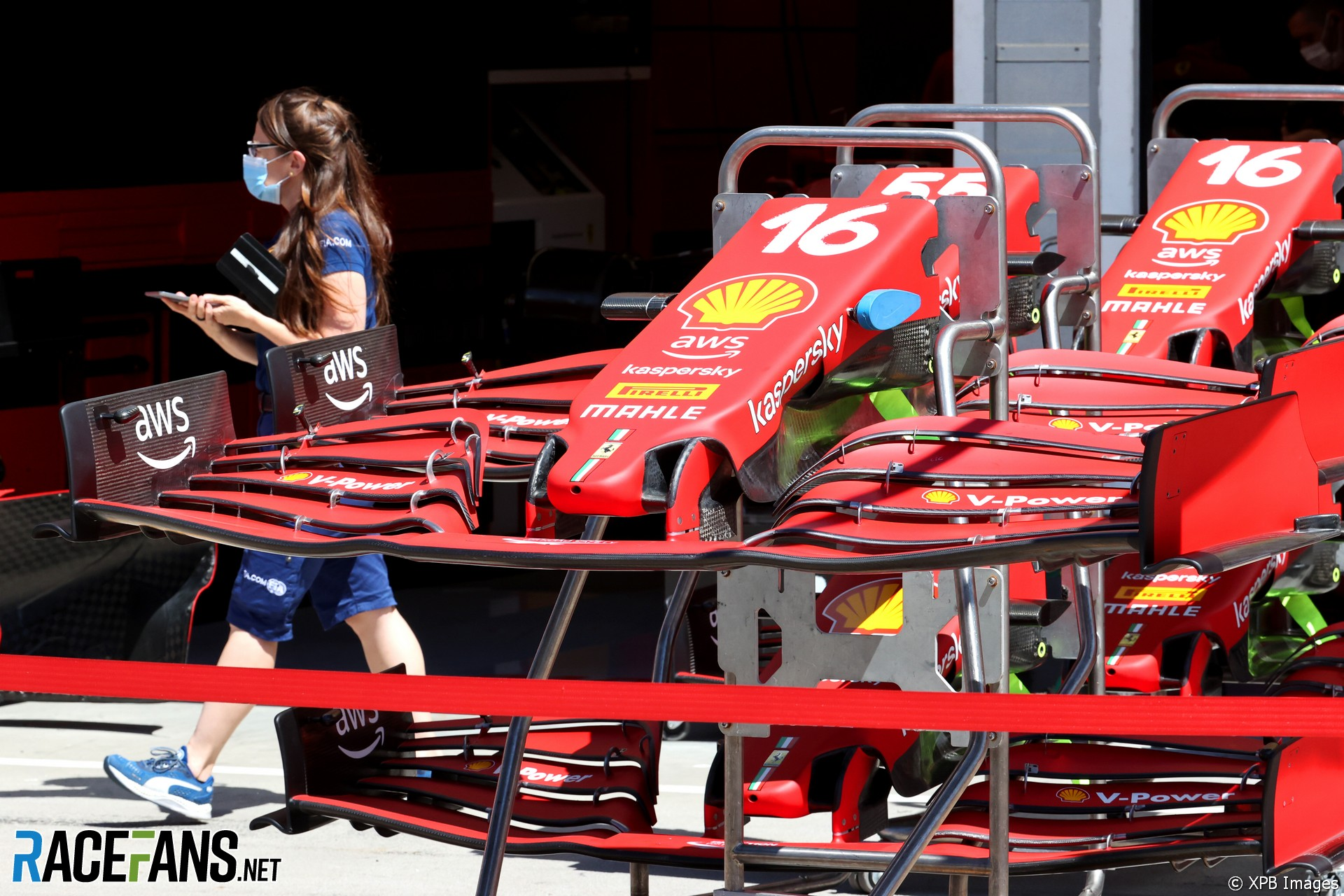 Front Wings for the Scuderia Ferrari SF21