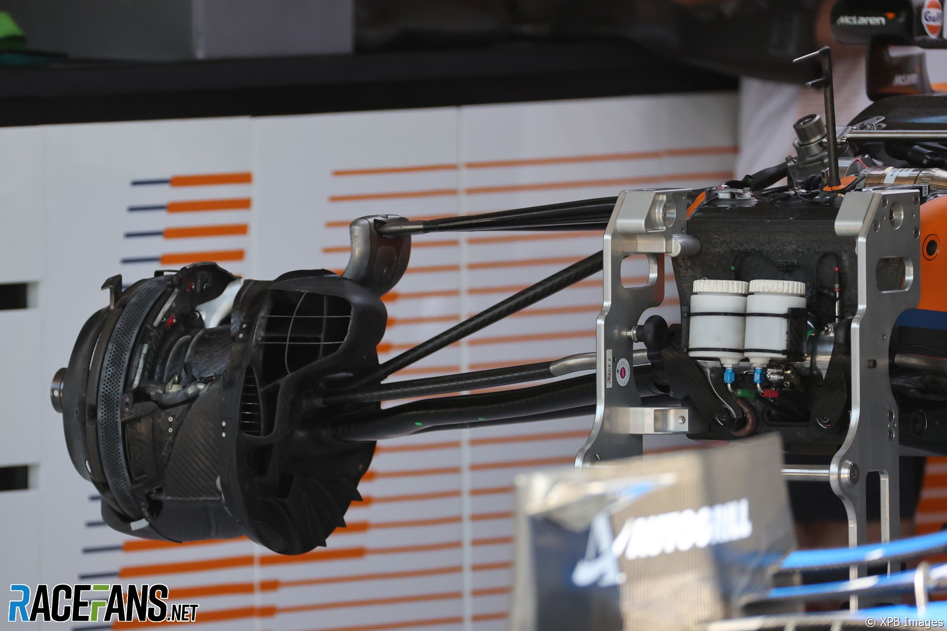 A Detail for the McLaren F1 Team MCL35M