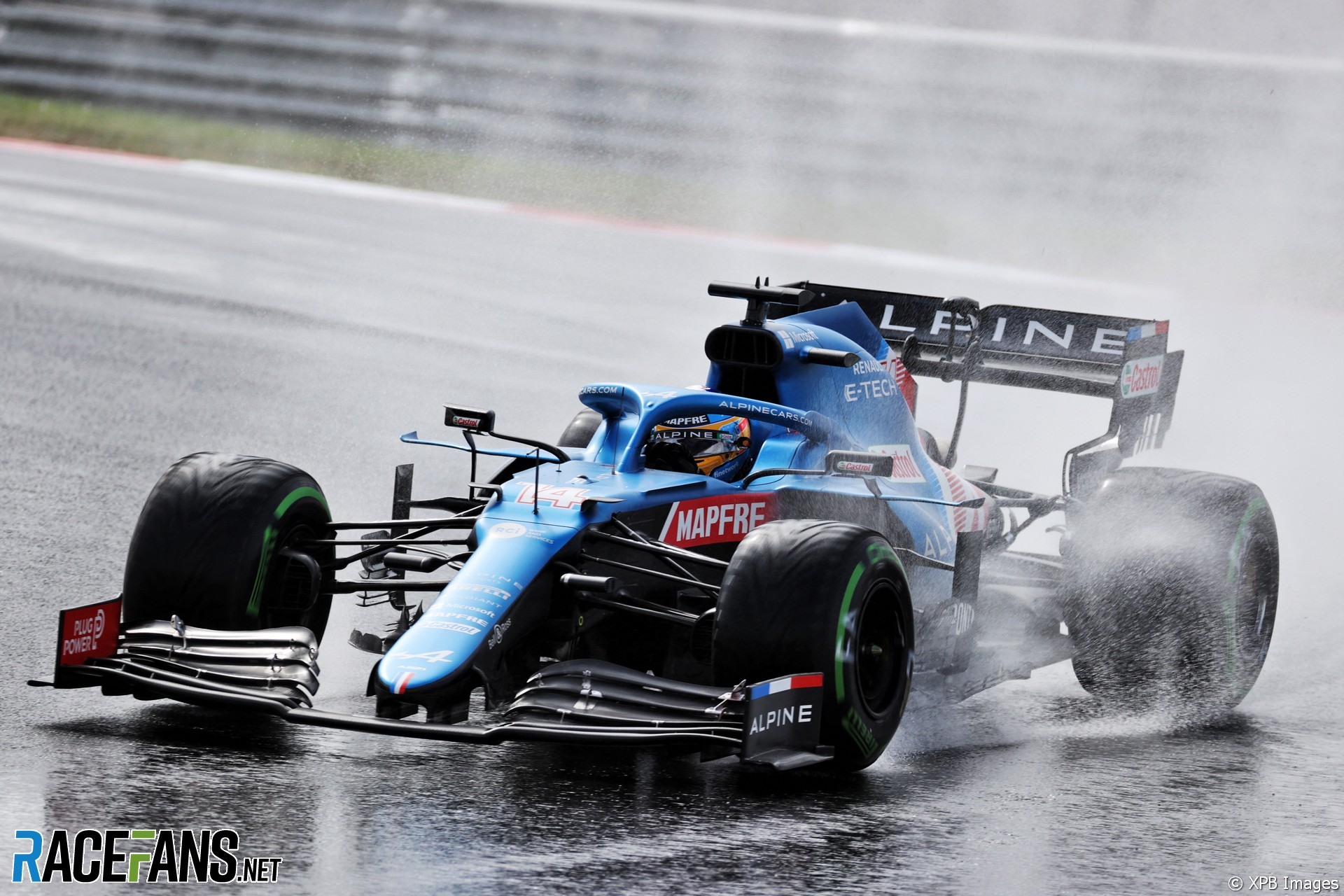 Fernando Alonso, Alpine F1 Team, A521