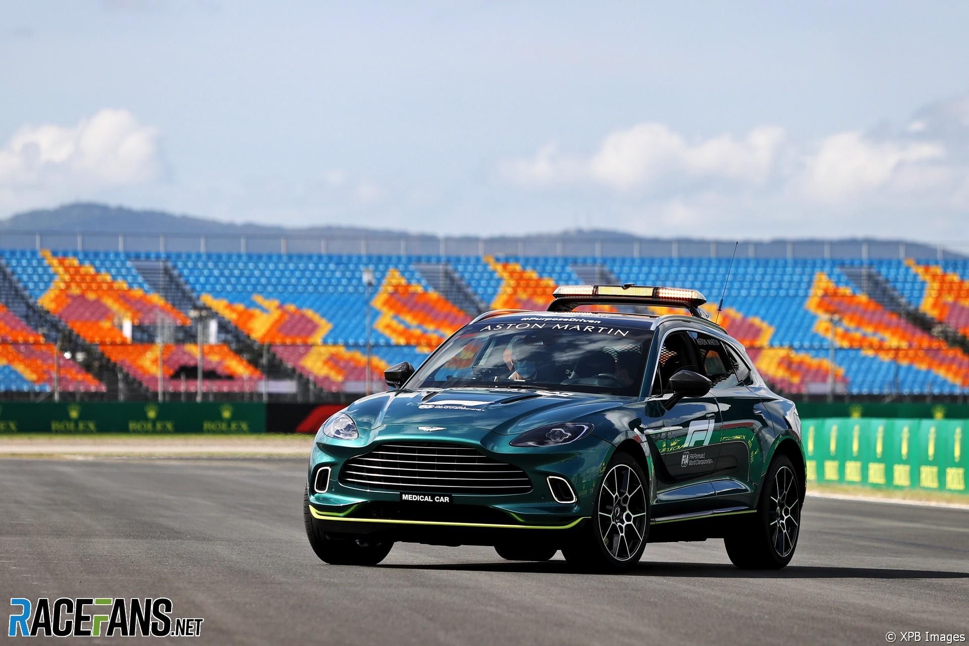 Aston Martin FIA Medical Car